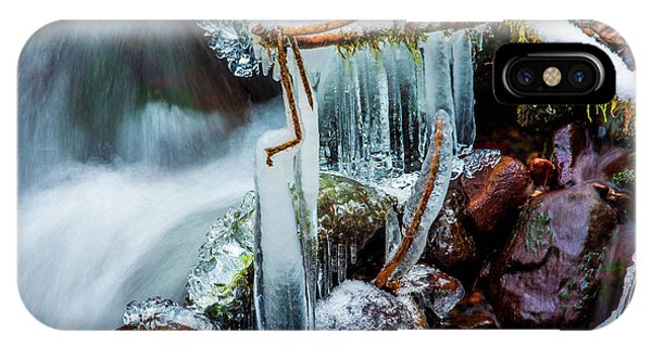 Creekside Icicles IPhone Case