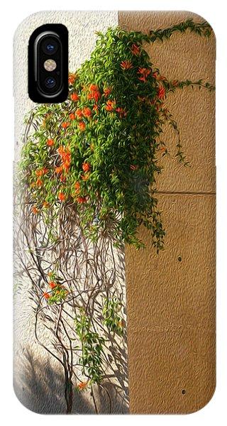Creeping Plants IPhone Case