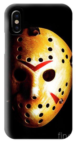 Hockey iPhone Case - Creepy Keeper by Jorgo Photography - Wall Art Gallery