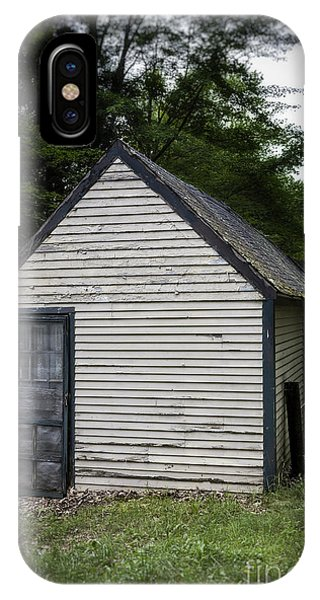 Cabin iPhone Case - Creepy Old Cabins by Edward Fielding
