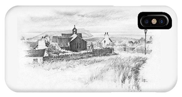 Cregneish Sketch IPhone Case