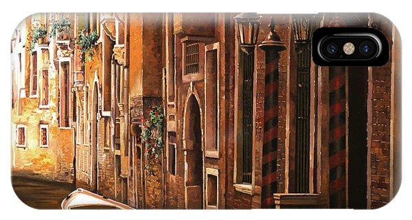 Cream iPhone Case - Crema Veneziana by Guido Borelli