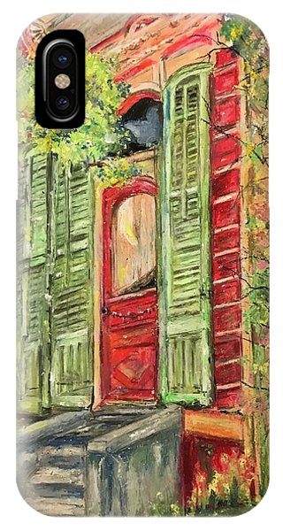 Creole Painted Lady In The Marigny IPhone Case