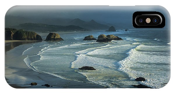 Crescent Beach And Surf IPhone Case