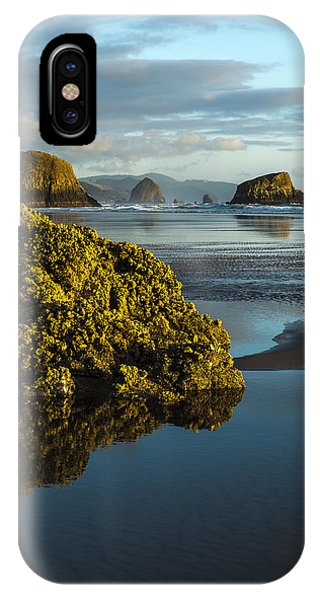 Crescent Beach IPhone Case