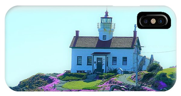 Crescent City Lighthouse IPhone Case