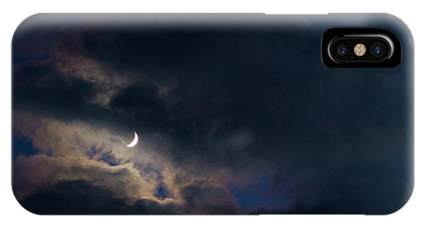 Crescent Moon In Hocking Hilla IPhone Case