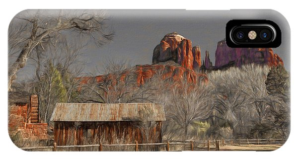 Crescent Moon Ranch IPhone Case