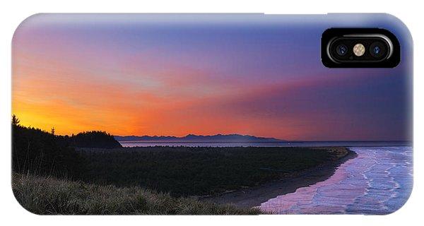 Crescent Moon Sunrise IPhone Case