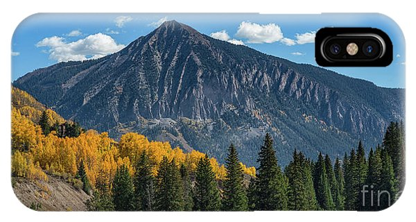 Crested Butte Mountain IPhone Case