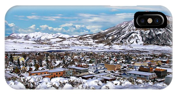 Crested Butte Panorama IPhone Case
