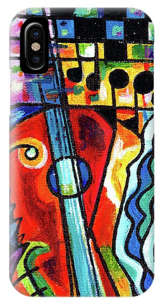 Creve Coeur Streetlight Banners Whimsical Motion 10 IPhone Case