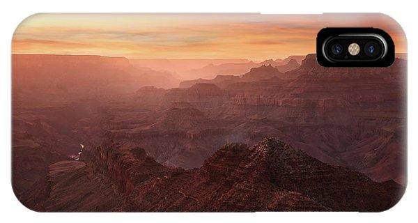 Crimson Canyon Phone Case by Adam Schallau