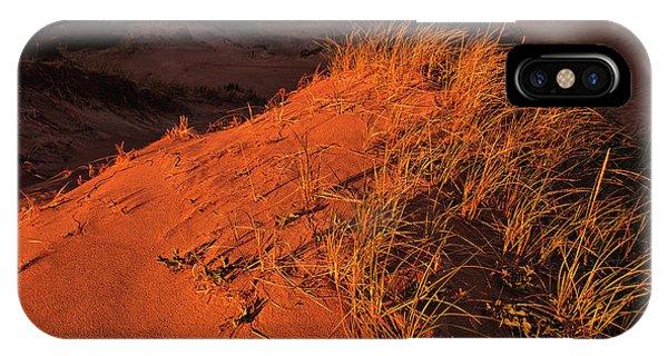 Crimson Dunes IPhone Case