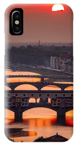 Crimson River IPhone Case