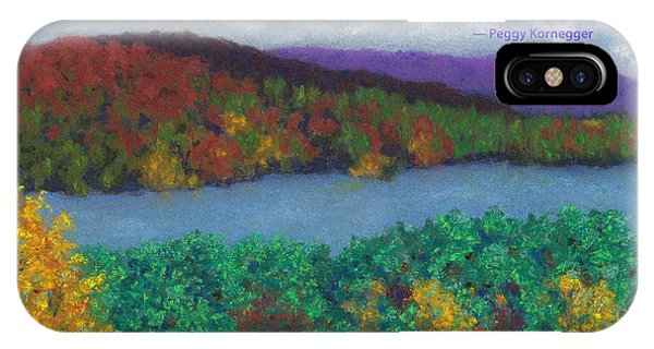 Crisp Kripalu Morning - With Quote IPhone Case