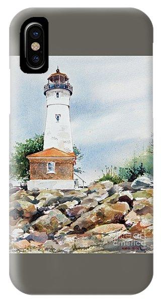 Crisp Lighthouse IPhone Case