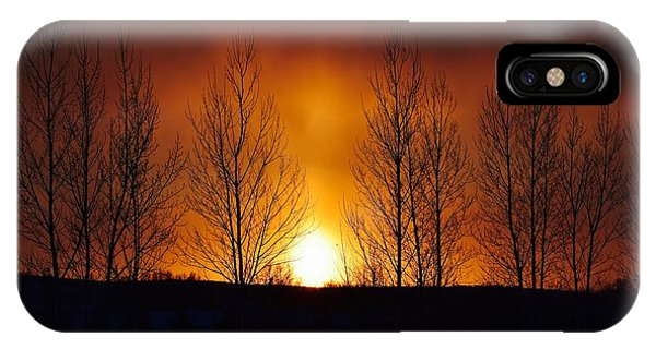 Crisp Sunset IPhone Case