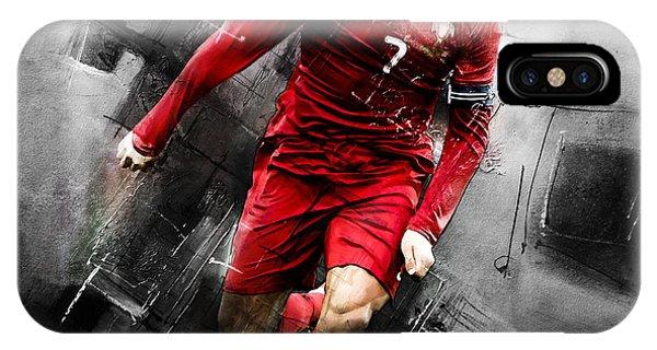 Borussia Dortmund iPhone Case - Cristiano Ronaldo 06i by Gull G