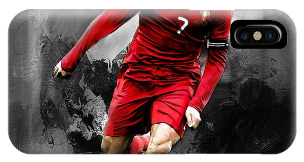 Borussia Dortmund iPhone Case - Cristiano Ronaldo 06s by Gull G