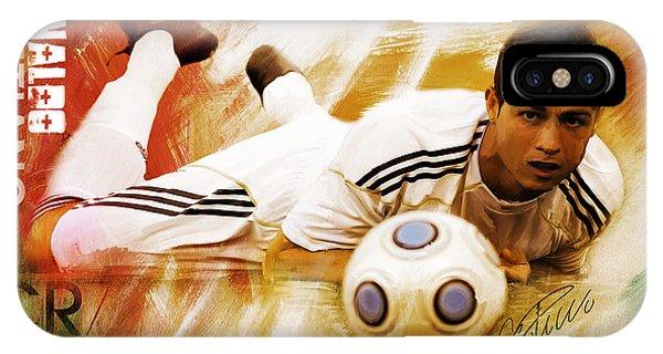 Borussia Dortmund iPhone Case - Cristiano Ronaldo 092f by Gull G