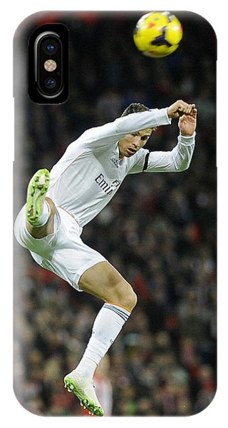 Cristiano Ronaldo iPhone Case - Cristiano Ronaldo 30 by Rafa Rivas