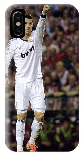 Cristiano Ronaldo iPhone Case - Cristiano Ronaldo 31 by Rafa Rivas