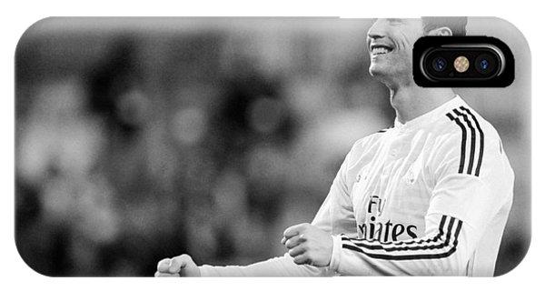 Cristiano Ronaldo iPhone Case - Cristiano Ronaldo 33 by Rafa Rivas