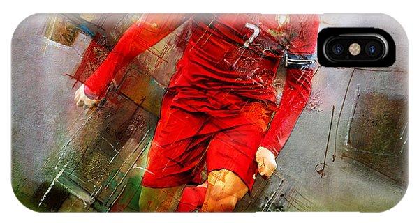 Borussia Dortmund iPhone Case - Cristiano Ronaldo  by Gull G