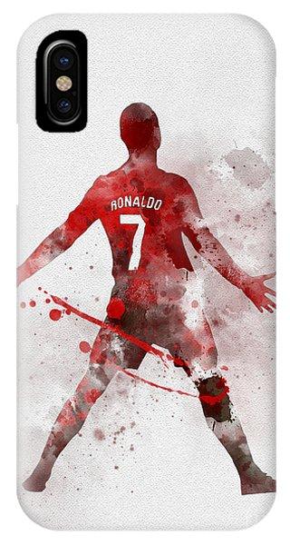 Cristiano Ronaldo iPhone Case - Cristiano Ronaldo United by My Inspiration