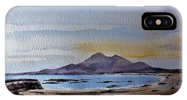 F801  Croagh Patrick From Old Head, Mayo IPhone Case