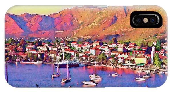 Croatia Coastal Living IPhone Case
