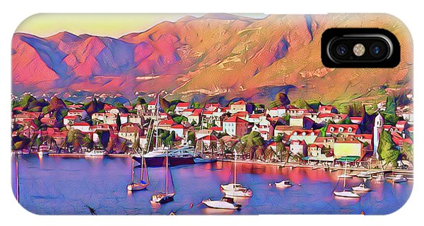 Croatia Coastal Living IPhone Case