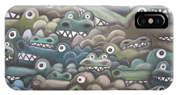 Crocodile Soup IPhone Case