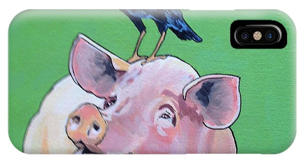Cromwell The Crow IPhone Case