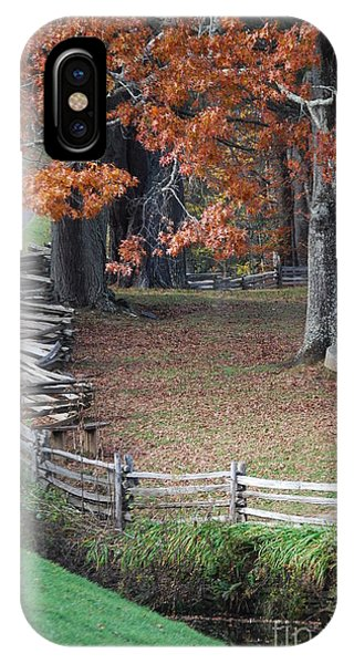 Crooked Fence IPhone Case