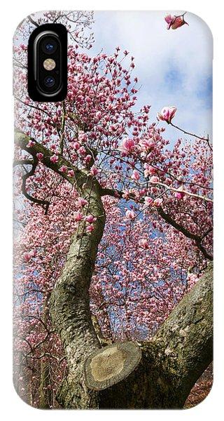 Crooked Magnolia IPhone Case