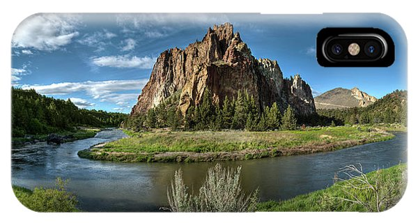 Crooked River And Smith Rock IPhone Case