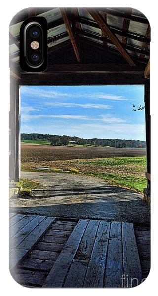 Crooks Covered Bridge 2 IPhone Case