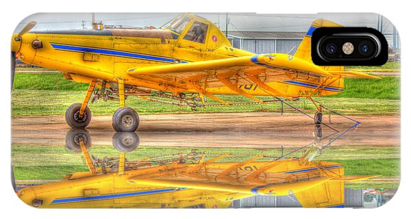 Crop Duster 002 IPhone Case