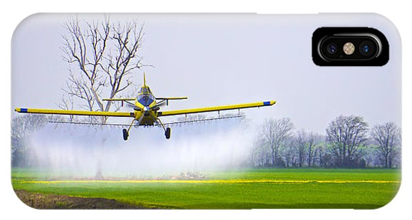 Precision Flying - Crop Dusting 1 Of 2 IPhone Case