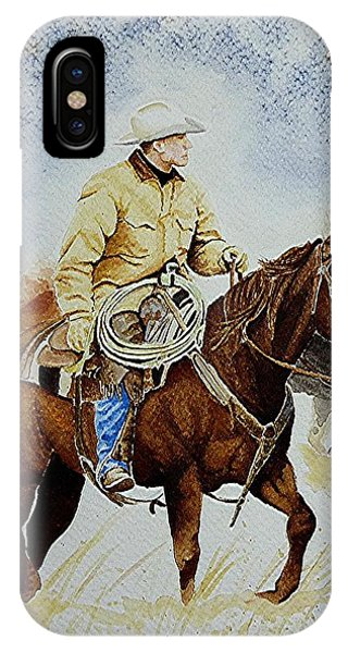 Cropped Ranch Rider IPhone Case