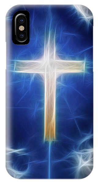 Cross Abstract IPhone Case