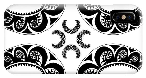 Cross Maori Style IPhone Case