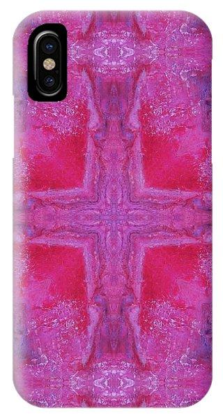 Cross Of Love IPhone Case