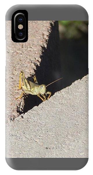 Cross Over Grasshopper IPhone Case