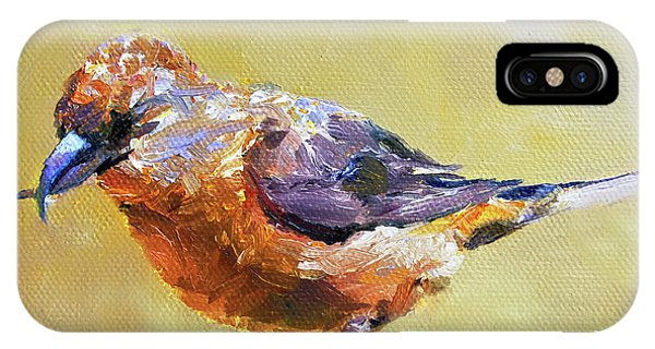 Crossbill IPhone Case
