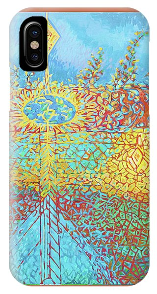 Crosscut Earth IPhone Case