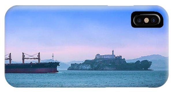 Crossing Alcatraz IPhone Case