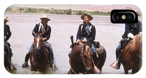Crossing The Colorado River IPhone Case
